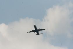 Airplane veering