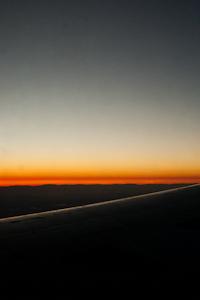 Sunset approaching Sacramento
