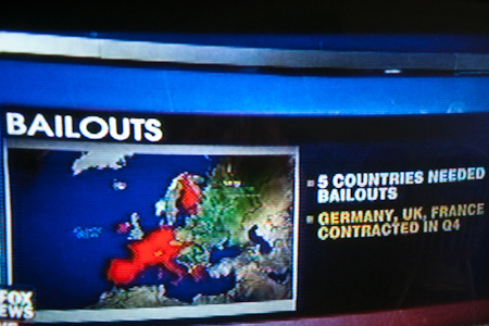 Euro bailout map, FOX News