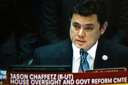 Cong. Jason Chaffetz, (Rep/UT)