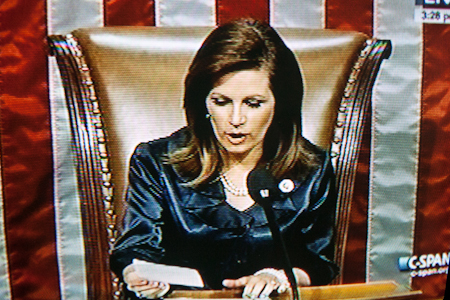 Michele Bachmann - HR repeals Obamacare