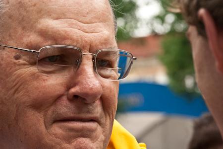 Proud Grandpa Bob