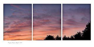 Sunrise, July 24, 2009